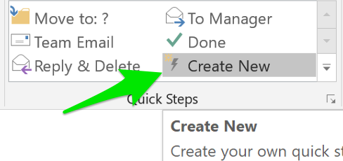 Add a Quick Step for Spam Submission in Outlook